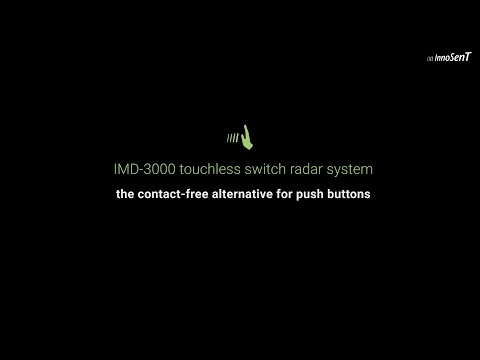 Touchless Switch IMD-3000 Performance Video - A non-contact alternative for push buttons