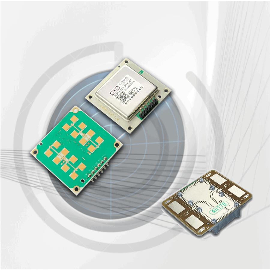 Componenti RF per sensori Radar