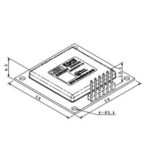 njr4234 modulo RADAR misurazione distanza a 24 GHz