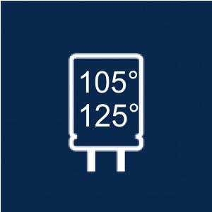 Condensatori Snap-In 105°C / 125°C