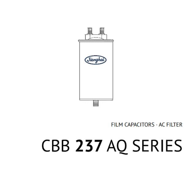 Condensatore a film AC Filter: CBB 237 AQ