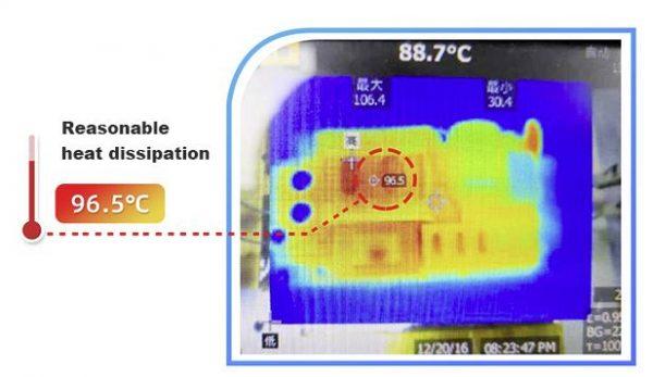 MORNSUN power supply heat dissipation